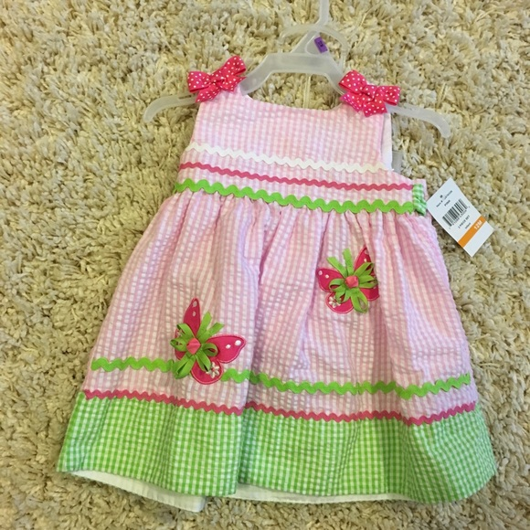 e85d8ffd8 NWT Baby girl summer dress and bloomer set NWT